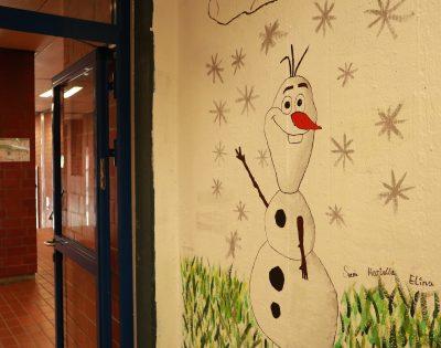 Gesamtschule Wanne-Eickel Kunst Pausenhalle