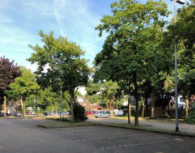 Gesamtschule Wanne-Eickel Lehrerparkplatz