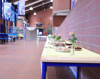 Gesamtschule Wanne-Eickel Pausenhalle