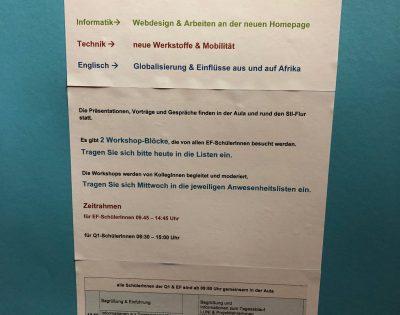 Gesamtschule Wanne-Eickel Projekte Praesentation