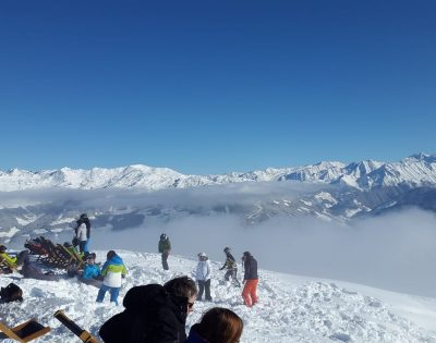 Gesamtschule Wanne-Eickel Skifahrt Panorama