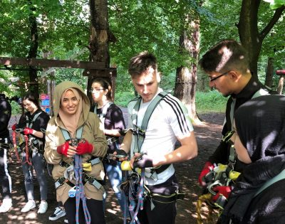 Gesamtschule Wanne-Eickel Teambildung in der Oberstufe