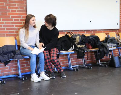 Gesamtschule Wanne-Eickel Theaterkooperation Oberstufe