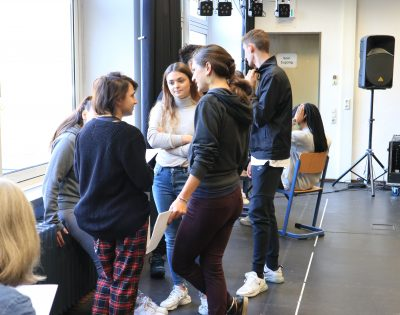 Gesamtschule Wanne-Eickel Theaterpädagogik Oberstufe