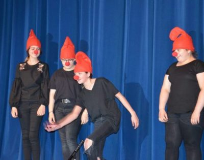 Gesamtschule Wanne-Eickel Varieté Pantomime