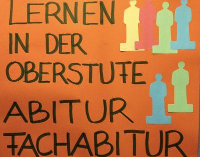 Plakat Lernen in der SII