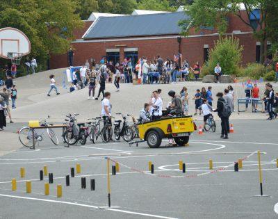 Schulfest Gesamtschule Wanne-Eickel Parkours